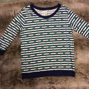 Anthropologie Porridge Gabby Striped top